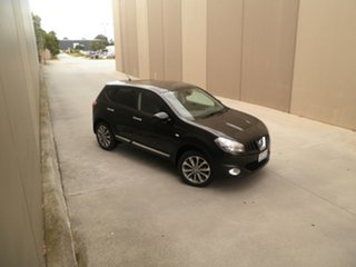2011 Nissan Dualis J10 Series II MY2010 Ti Hatch X-tronic Black Quartz 6 Speed Constant Variable