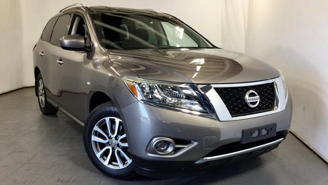 Used Nissan Pathfinder R52 MY14 ST X-tronic 2WD Elizabeth, 2014 Nissan Pathfinder R52 MY14 ST X-tronic 2WD Grey 1 Speed Constant Variable Wagon