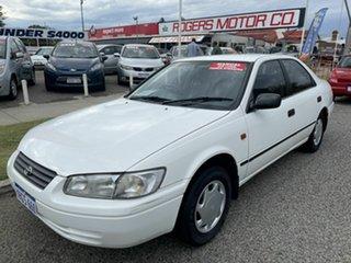 1997 Toyota Camry SDV10 CSi White 5 Speed Manual Sedan.