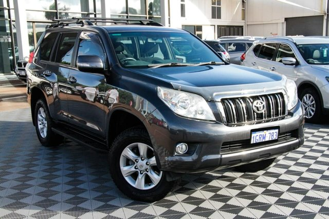 Used Toyota Landcruiser Prado KDJ150R GXL Attadale, 2009 Toyota Landcruiser Prado KDJ150R GXL Grey 5 Speed Sports Automatic Wagon