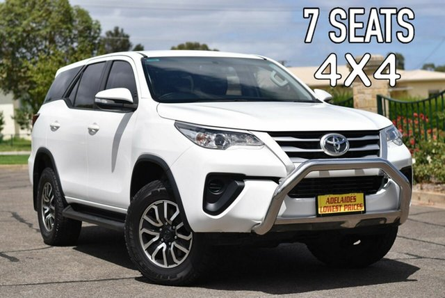 Used Toyota Fortuner GUN156R GX Enfield, 2016 Toyota Fortuner GUN156R GX White 6 Speed Automatic Wagon