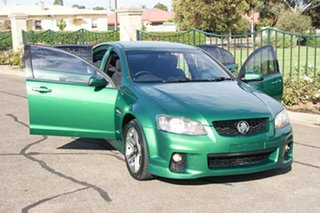2010 Holden Commodore VE II SV6 Green 6 Speed Automatic Sedan