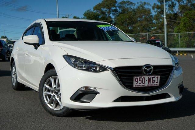 Used Mazda 3 BM5278 Neo SKYACTIV-Drive Hillcrest, 2015 Mazda 3 BM5278 Neo SKYACTIV-Drive Snowflake White 6 Speed Sports Automatic Sedan
