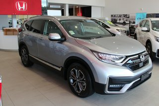 2020 Honda CR-V RW MY21 VTi FWD L7 Lunar Silver 1 Speed Constant Variable Wagon