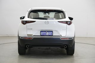 2020 Mazda CX-30 DM2W7A G20 SKYACTIV-Drive Touring Pearl White 6 Speed Sports Automatic Wagon