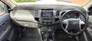 2012 Toyota Hilux KUN26R MY12 SR Double Cab 5 Speed Manual Utility
