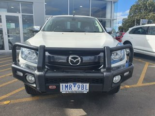 2018 Mazda BT-50 UR0YG1 XTR White 6 Speed Sports Automatic Utility.