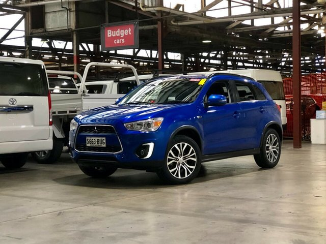 Used Mitsubishi ASX XB MY15.5 LS 2WD Mile End South, 2016 Mitsubishi ASX XB MY15.5 LS 2WD Blue 6 Speed Constant Variable Wagon