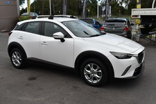 2016 Mazda CX-3 DK4W7A Maxx SKYACTIV-Drive i-ACTIV AWD White 6 Speed Sports Automatic Wagon