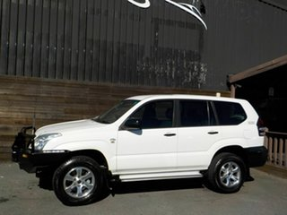 2008 Toyota Landcruiser Prado KDJ120R Standard White 6 Speed Manual Wagon