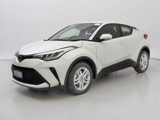 2020 Toyota C-HR NGX10R Standard (2WD) White Continuous Variable Hatchback.