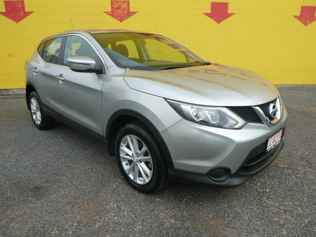 Used Nissan Qashqai Winnellie, 2015 Nissan Qashqai Silver 6 Speed Sports Automatic Wagon