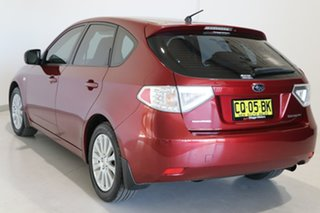 2011 Subaru Impreza G3 MY11 R AWD Red 4 Speed Sports Automatic Hatchback.