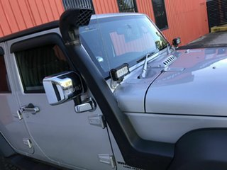 2009 Jeep Wrangler JK MY2010 Unlimited Sport Silver 5 Speed Automatic Softtop