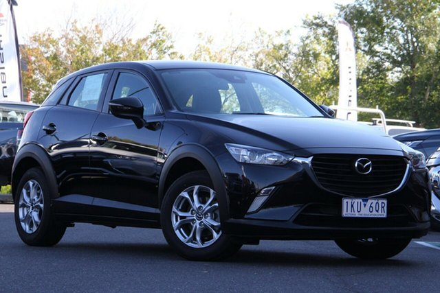 Used Mazda CX-3 DK2W7A Maxx SKYACTIV-Drive Essendon Fields, 2017 Mazda CX-3 DK2W7A Maxx SKYACTIV-Drive Black 6 Speed Sports Automatic Wagon