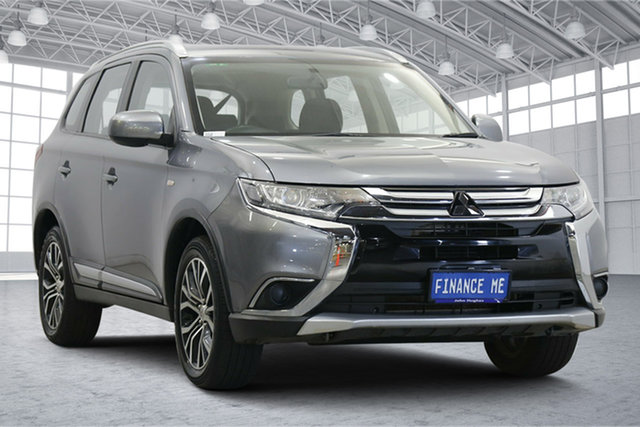Used Mitsubishi Outlander ZL MY18.5 ES AWD Victoria Park, 2018 Mitsubishi Outlander ZL MY18.5 ES AWD Titanium 6 Speed Constant Variable Wagon