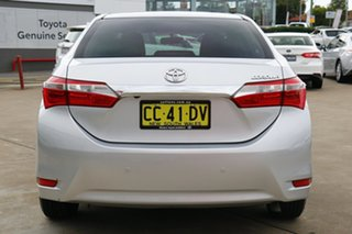 2014 Toyota Corolla ZRE172R Ascent S-CVT Silver Ash 7 Speed Constant Variable Sedan