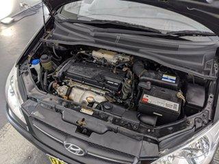 2009 Hyundai Getz TB MY09 S Black 5 Speed Manual Hatchback