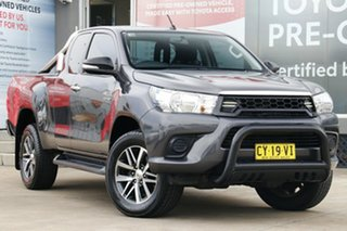 2016 Toyota Hilux GUN126R 4x4 Graphite 6 Speed Manual Extracab.