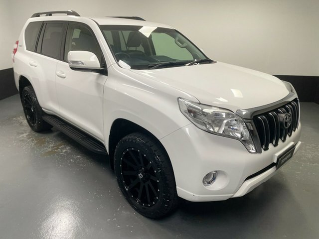 Used Toyota Landcruiser Prado GDJ150R GXL Rutherford, 2017 Toyota Landcruiser Prado GDJ150R GXL White 6 Speed Sports Automatic Wagon