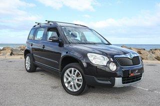 2011 Skoda Yeti 5L 103TDI DSG Black 6 Speed Sports Automatic Dual Clutch Wagon.