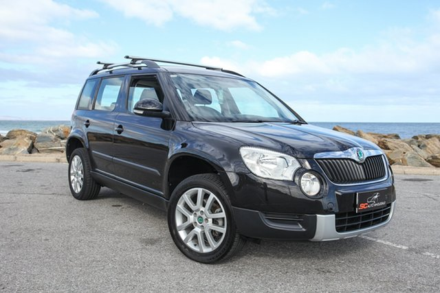 Used Skoda Yeti 5L 103TDI DSG Lonsdale, 2011 Skoda Yeti 5L 103TDI DSG Black 6 Speed Sports Automatic Dual Clutch Wagon