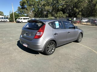 2011 Hyundai i30 FD MY11 SR Silver 5 Speed Manual Hatchback.