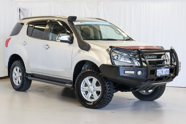Used Isuzu MU-X MY15 LS-T Rev-Tronic Wangara, 2014 Isuzu MU-X MY15 LS-T Rev-Tronic Silver 5 Speed Sports Automatic Wagon