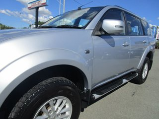 2013 Mitsubishi Challenger PC (KH) MY14 LS Silver 5 Speed Sports Automatic Wagon
