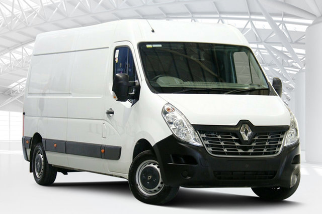 Used Renault Master X62 Mid Roof LWB AMT Moorebank, 2016 Renault Master X62 Mid Roof LWB AMT Glacier White 6 Speed Sports Automatic Single Clutch Van