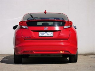 2013 Honda Civic 9th Gen VTi-LN Red Sports Automatic Hatchback