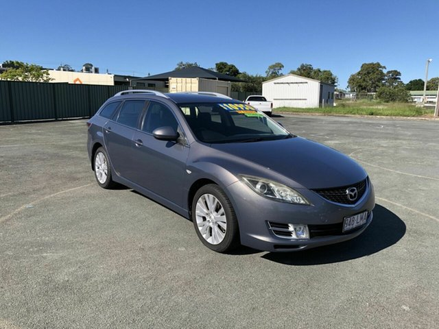 Used Mazda 6 GH1051 Classic Kippa-Ring, 2008 Mazda 6 GH1051 Classic Grey 5 Speed Sports Automatic Wagon