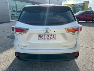 2015 Toyota Kluger GSU50R Grande 2WD White/010315 6 Speed Sports Automatic Wagon