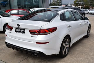 2019 Kia Optima JF MY20 GT Snow White 6 Speed Sports Automatic Sedan
