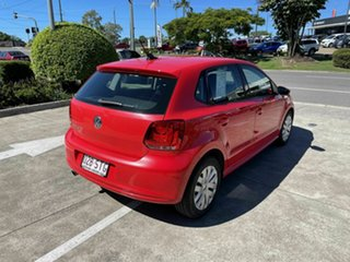 2012 Volkswagen Polo 6R MY13 Trendline Red 5 Speed Manual Hatchback