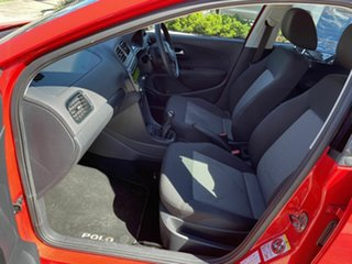 2012 Volkswagen Polo 6R MY13 Trendline Red 5 Speed Manual Hatchback