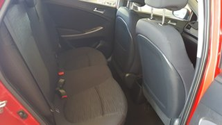 2016 Hyundai Accent RB3 MY16 Active Burgundy 6 Speed CVT Auto Sequential Hatchback