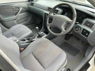 1997 Toyota Camry SDV10 CSi White 5 Speed Manual Sedan