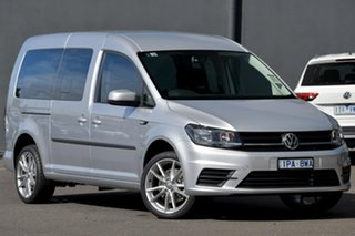 2020 Volkswagen Caddy 2K MY20 TSI220 Maxi DSG Trendline Silver 7 Speed Sports Automatic Dual Clutch.