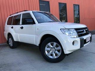 2011 Mitsubishi Pajero NT MY11 GLX White 5 Speed Sports Automatic Wagon.