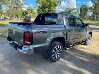 2020 Volkswagen Amarok 2H MY21 TDI580 4MOTION Perm Aventura Indium Grey 8 Speed Automatic Utility