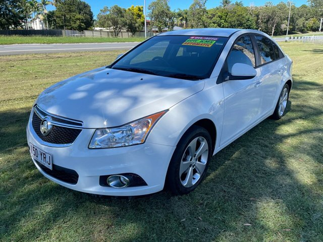 Used Holden Cruze JH Series II MY14 Equipe Clontarf, 2014 Holden Cruze JH Series II MY14 Equipe White 6 Speed Sports Automatic Sedan