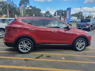 2015 Hyundai Santa Fe DM3 MY16 Highlander Red 6 Speed Sports Automatic Wagon