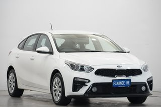 2019 Kia Cerato BD MY19 S Snow White Pearl 6 Speed Sports Automatic Hatchback