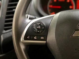 2017 Mitsubishi Triton MQ MY17 GLX Double Cab White 5 Speed Sports Automatic Cab Chassis