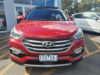 2015 Hyundai Santa Fe DM3 MY16 Highlander Red 6 Speed Sports Automatic Wagon.