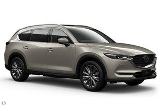 2021 Mazda CX-8 KG4W2A Asaki SKYACTIV-Drive i-ACTIV AWD Silver 6 Speed Sports Automatic Wagon