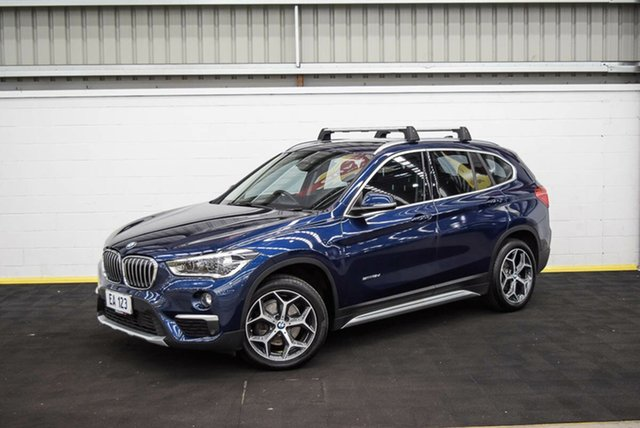 Used BMW X1 F48 sDrive18d Steptronic Canning Vale, 2017 BMW X1 F48 sDrive18d Steptronic Blue 8 Speed Sports Automatic Wagon