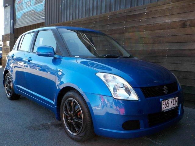 Used Suzuki Swift RS415 Labrador, 2007 Suzuki Swift RS415 Blue 4 Speed Automatic Hatchback