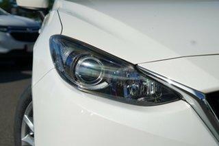2015 Mazda 3 BM5278 Neo SKYACTIV-Drive Snowflake White 6 Speed Sports Automatic Sedan.